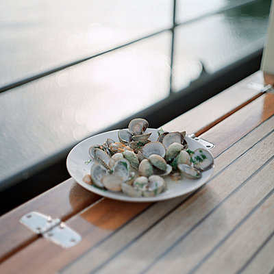 Sea shells - p989m907258 by Gine Seitz