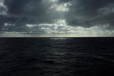Atlantic Ocean under clouds - p4163207 by Dominik Reipka