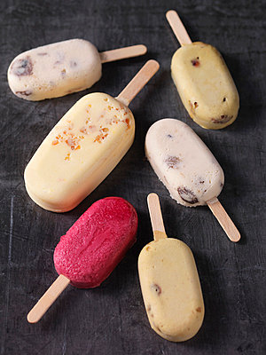 Variety of ice cream bars - p42918707 by Danielle Wood