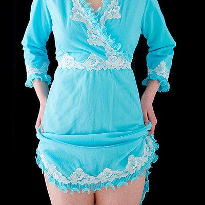 Blue dress - p4130149 by Tuomas Marttila