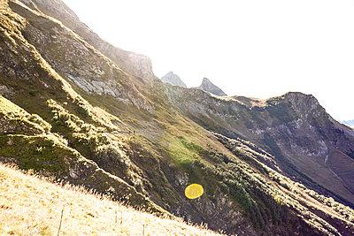Mountain scenery, Oberstdorf - Rappenseehütte - p741m2082775 by Christof Mattes