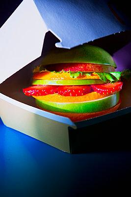 Veggie Burger - p1149m2089338 by Yvonne Röder