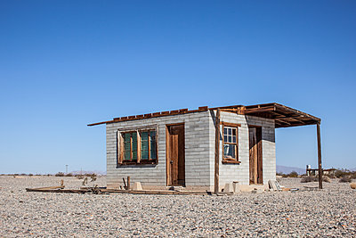 Deserted hut - p1291m2026954 by Marcus Bastel