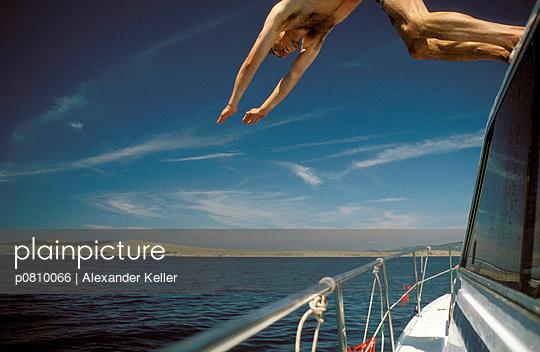 Kopfsprung ins Wasser - p0810066 von Alexander Keller