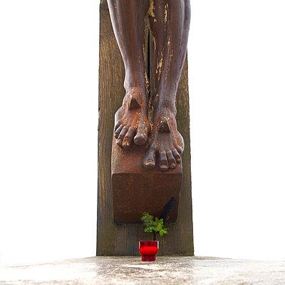 Christ cross - p813m793962 by B.Jaubert