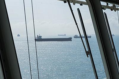 Container ships - p930m2148409 by Ignatio Bravo