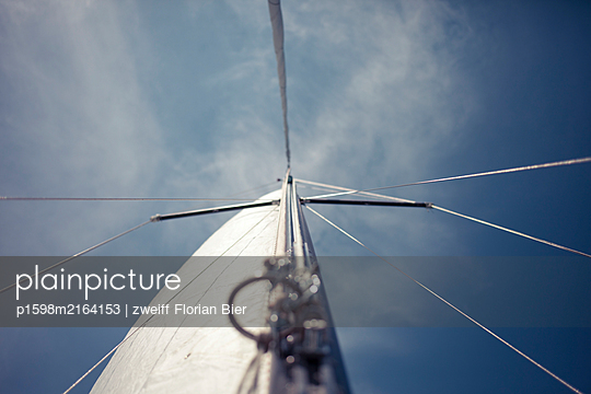 Rigging, sailing boat - p1598m2164153 by zweiff Florian Bier