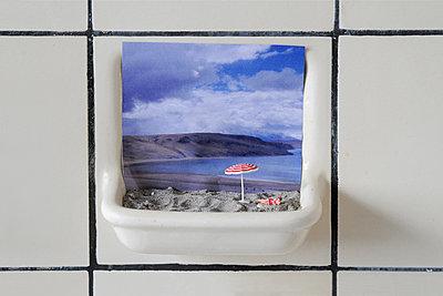 Urlaub in der Seifenschale - p1580m2182449 von Andrea Christofi