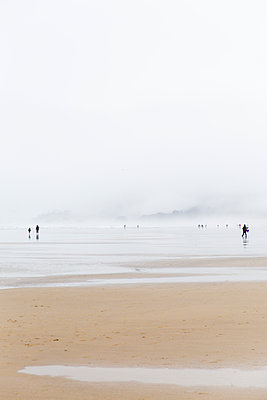 Going for a walk along the shore - p756m2053403 by Bénédicte Lassalle