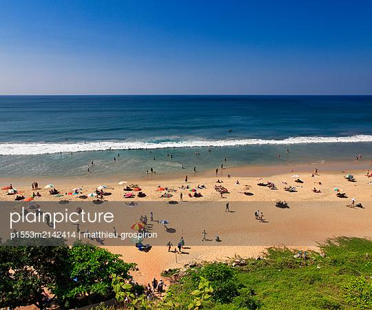 Strand bei Varkala - p1553m2142414 von matthieu grospiron