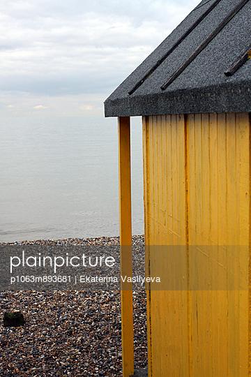 Beach house - p1063m893681 by Ekaterina Vasilyeva