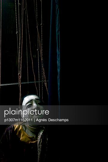 Puppet theatre - p1307m1162011 by Agnès Deschamps