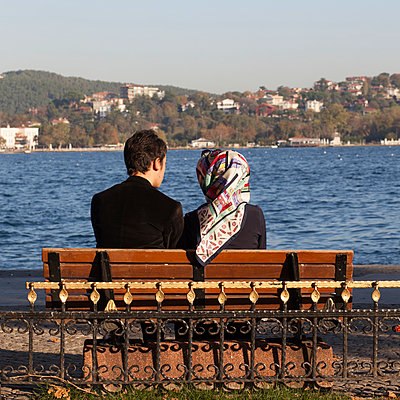 Liebespaar am Bosporus - p1138m925095 von Stéphanie Foäche
