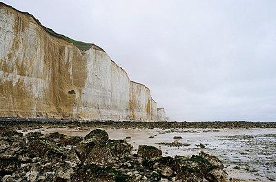 Steilküste in der Normandie - p4190163 von Markus Brehm