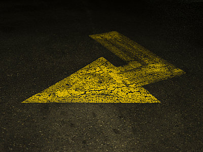 Arrow - Yellow - p1335m1508325 by Daniel Cullen