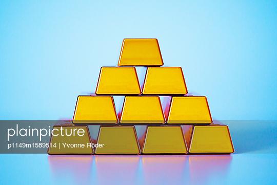 Goldbarren - p1149m1589514 von Yvonne Röder