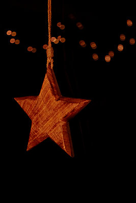 Christmas star - p1146m1109449 by Stephanie Uhlenbrock