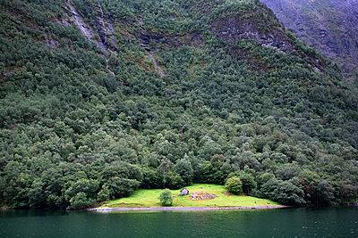Nærøyfjord, Norwegen - p1486m2007982 von LUXart