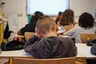Primary school Covid 19 in France - p1610m2215566 by myriam tirler