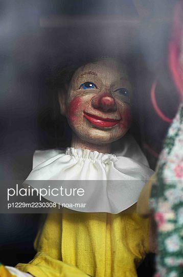 Marionette, Punch Puppet - p1229m2230308 by noa-mar