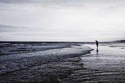 On a beach - p9070067 by Anna Fritsch
