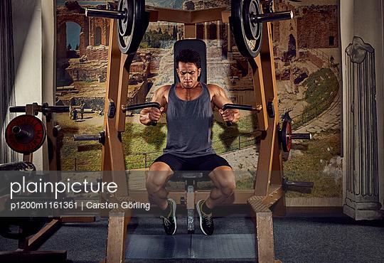 Bodybuilding - p1200m1161361 von Carsten Goerling