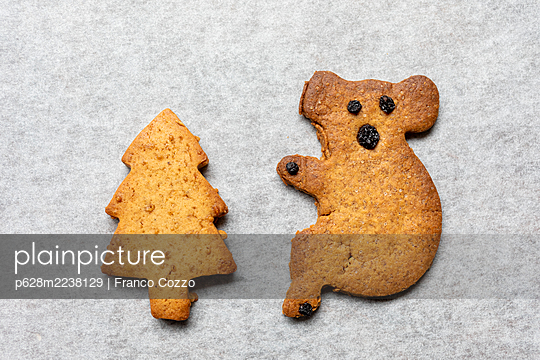 Australian animal cookies - p628m2238129 by Franco Cozzo