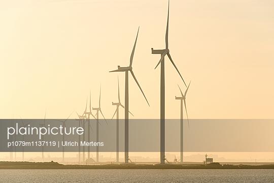Windpark in den Niederlanden - p1079m1137119 von Ulrich Mertens