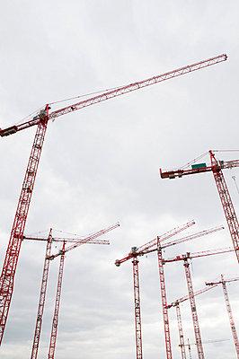 Baukräne - p2790113 von Markus Behrens