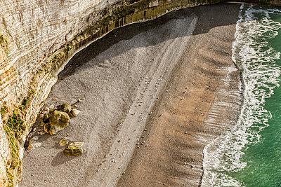 Felsklippen in der Normandie - p248m1225177 von BY