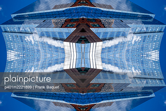 Abstract Architecture Kaleidoscope Boston - p401m2221899 by Frank Baquet