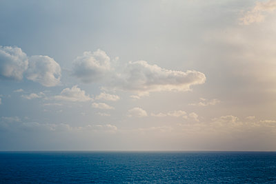 Clouds over the sea  - p1057m2008599 by Stephen Shepherd