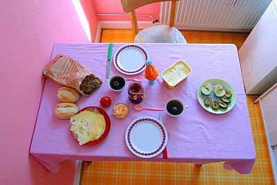 Frühstückstisch - p0440116d von Christiane Stephan