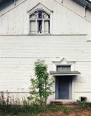 Holzhaus - p1016m792577 von Jochen Knobloch