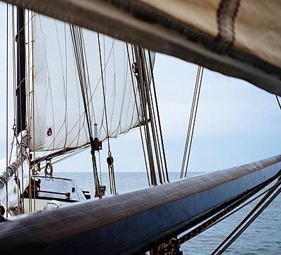 Sailing - p989m953139 by Gine Seitz