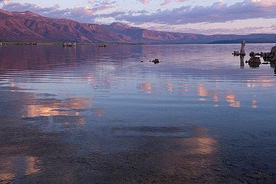 Mono lake, california, usa - p924m711176f by Pete Saloutos