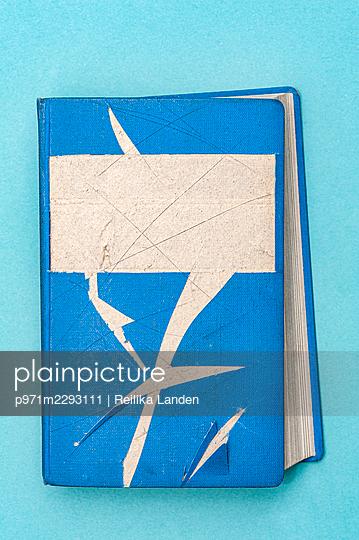 Tattered book - p971m2293111 by Reilika Landen