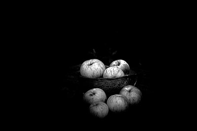 Apples in a bowl - p945m2157555 by aurelia frey