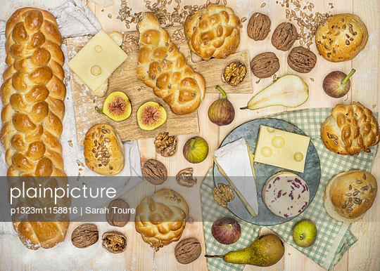 The Plaited Bread - p1323m1158816 by Sarah Toure