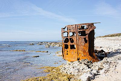 Schiffswrack - p1357m1223081 von Amadeus Waldner