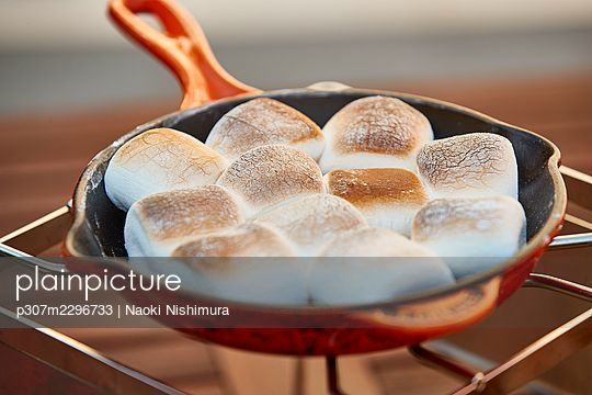 Party buffet in the garden - p307m2296733 by Naoki Nishimura