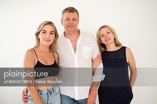 Family Portrait - p1363m2178815 by Valery Skurydin