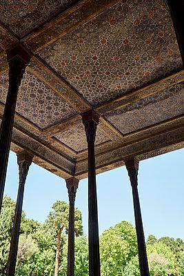 Tschehel Sotun Palast, Safawidischer Architektur - p1146m1445011 von Stephanie Uhlenbrock
