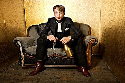 Komiker im altmodischen Ambiente - p6710040 von Thomas Marek