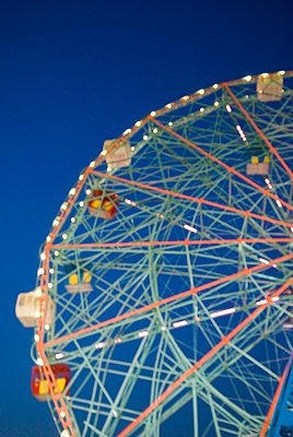 Ferris Wheel, Coney Island, New York City - p5690043 by Jeff Spielman