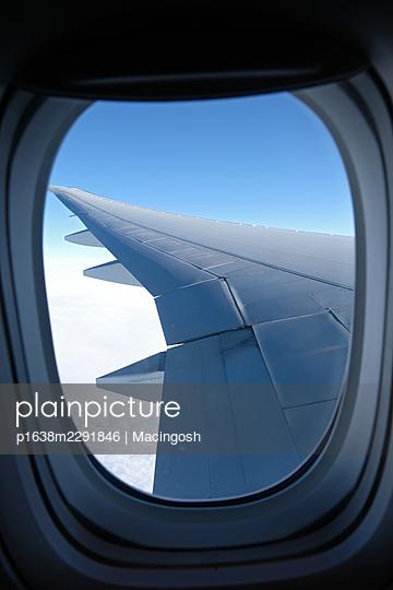 View from the airplane window - p1638m2291846 by Macingosh