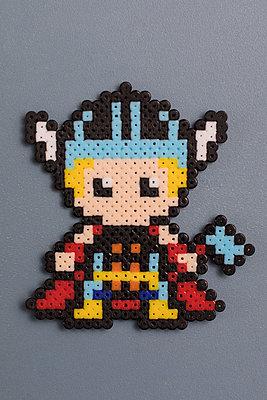Homemade super heroes - p788m1540365 by Lisa Krechting