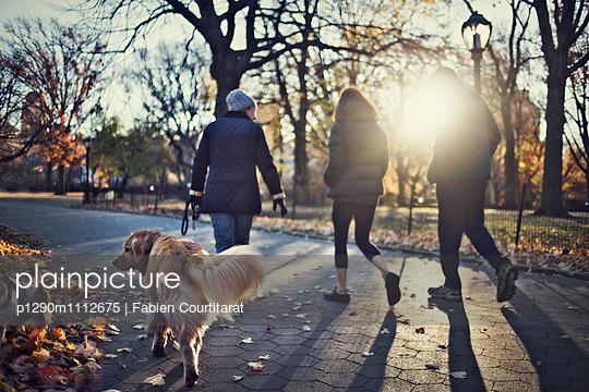 Fall Walk - p1290m1112675 by Fabien Courtitarat