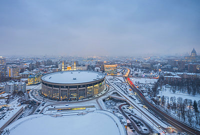 Olympic Stadium complex in Moscow - p390m2122361 by Frank Herfort