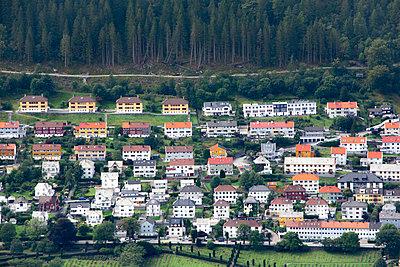 Bergen, Norwegen - p1486m2076083 von LUXart